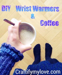 Dashwood Wrist Warmers handmade by Habiba from craftifymylove.com