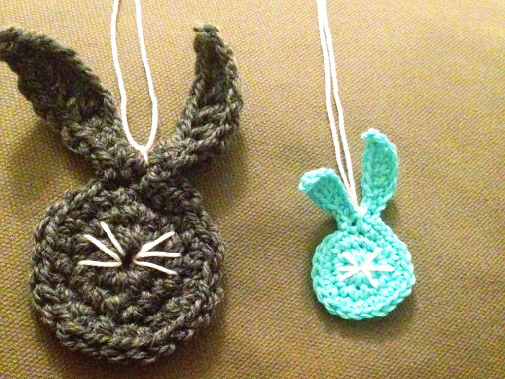 Bunnies DIY Mixed Media Easter Cards Crocheting And Paper by Craftify My Love