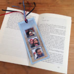 Vacation Memory Bookmark made from paper, photos and ribbon