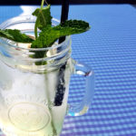 Ice Cold Ginny - a ginger lemonade made from homemade ginger sirup.