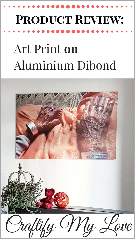 Art print on alu-dibond