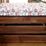 free tutorial on how to make your very own diy storage ottoman with tufting