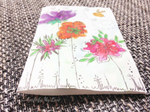 tutorial on how to hand paint watercolor flower cards