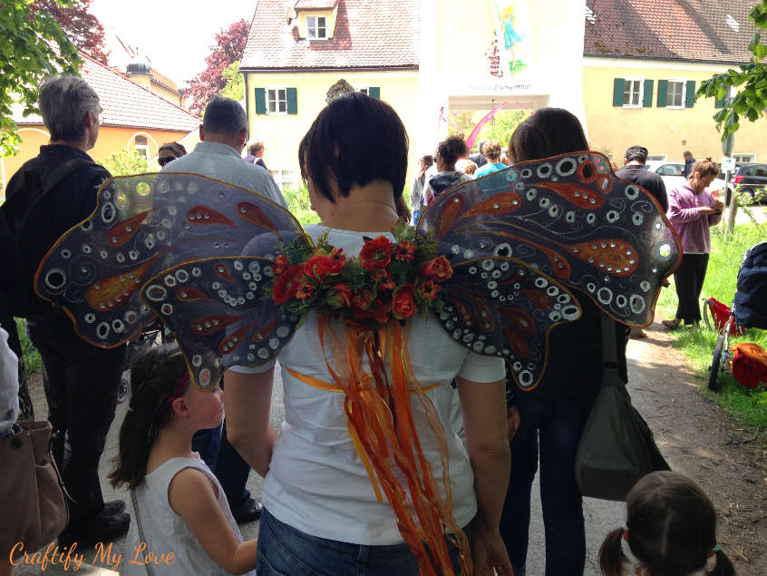DIY adult fairy costume butterfly halloween