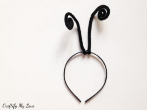 how to make antennae for butterfly halloween costume