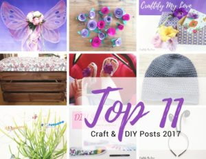 2017 top craft and diy posts. Easy projects for your home and heart. Click to start crafting...     #topposts2017 #topposts #top10 #topcraftprojects #bestof2017 #papercrafts #crocheting #IKEAhacks #sharpieart #homedecor