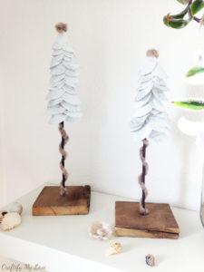 Christmas DIY project paper Christmas Tree
