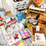 It gets worse before it gets better - craft room purge