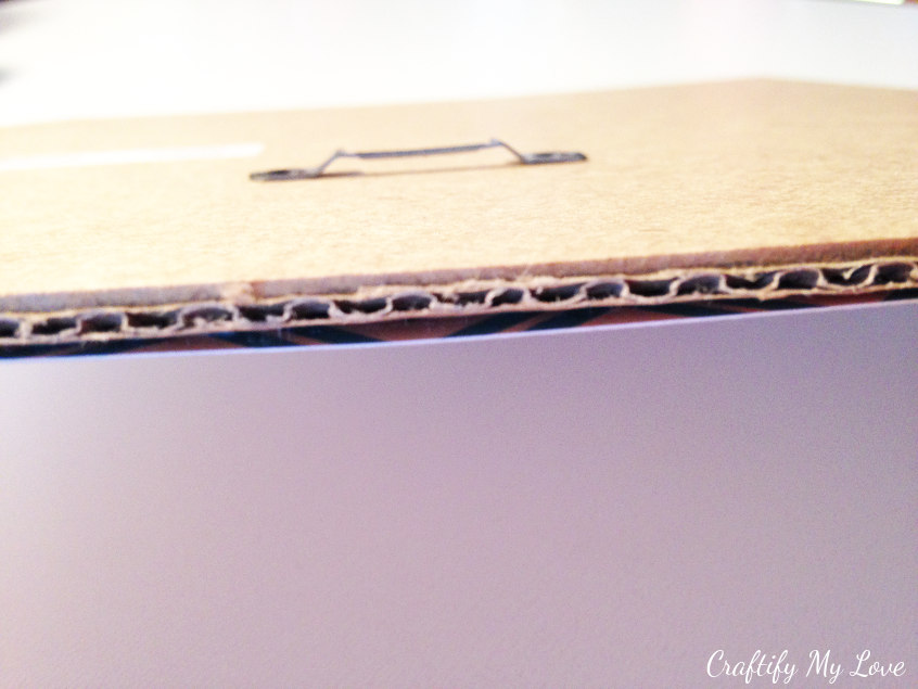 Layering base for string art in IKEA frame Ribba shadow box