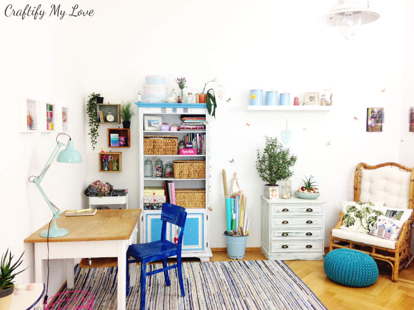 It's time to reveal the outcome of craft room challenge makeover