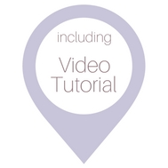 This post includes a step-by-step video tutorial