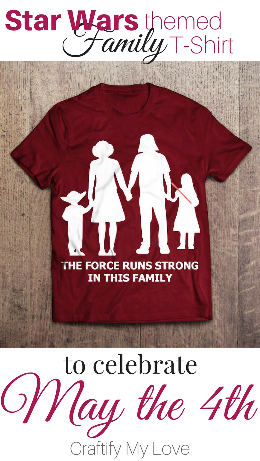 The-Force-runs-strong-in-this-family-star-wars-themed-t-shirt-for