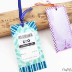 turn admission tickets from fun summer trips into a bookmark keepsake