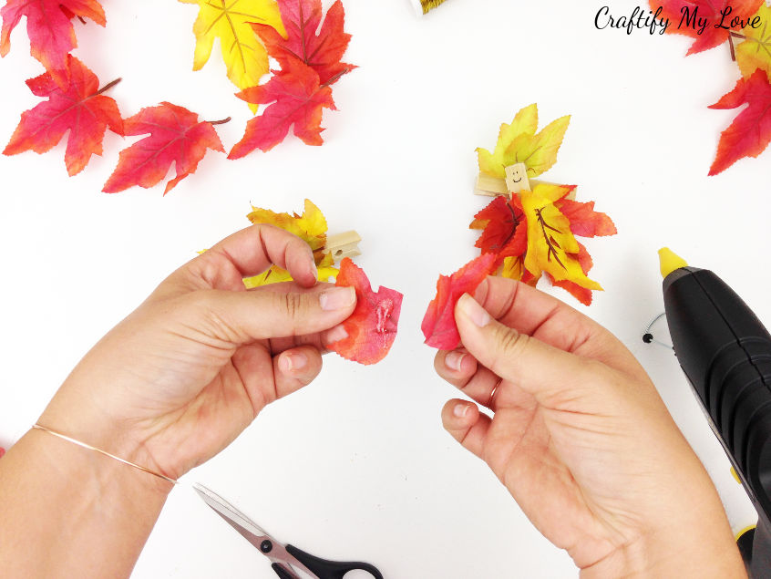 designing the hat or hair for your kids craft fall fairy project