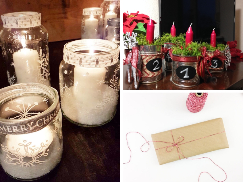 Upcycling and Recycling Christmas DIY Inspiration