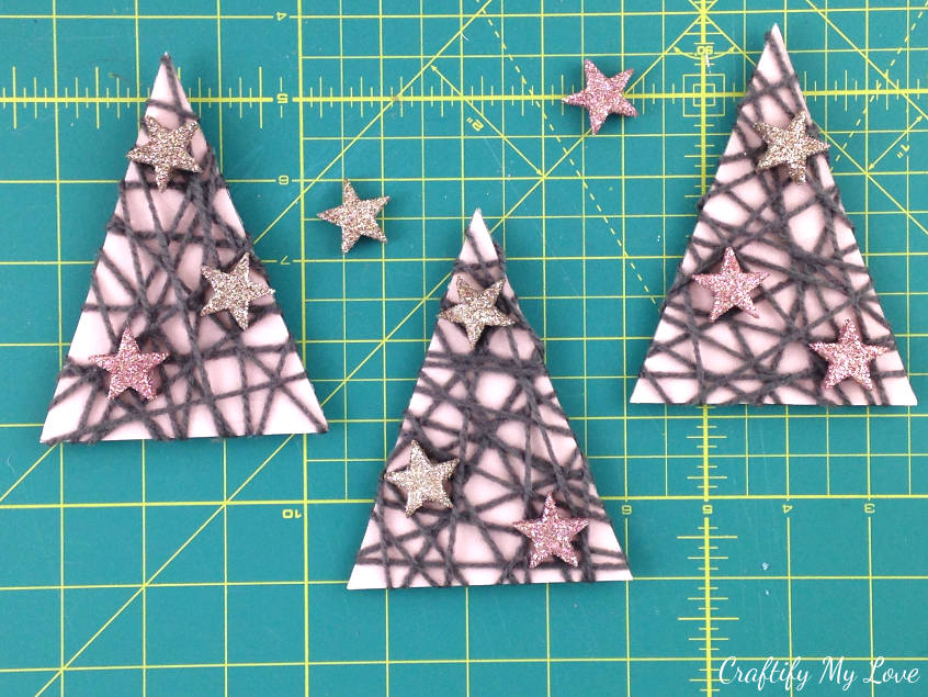 Christmas Shoe Tree.Mixed Media Christmas Trees Craftify My Love