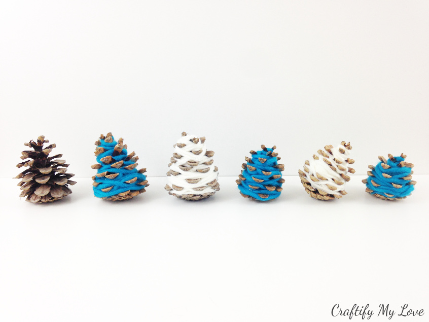 Pine Cone Christmas Ornaments To Make.Diy Hygge Mini Christmas Trees Craftify My Love