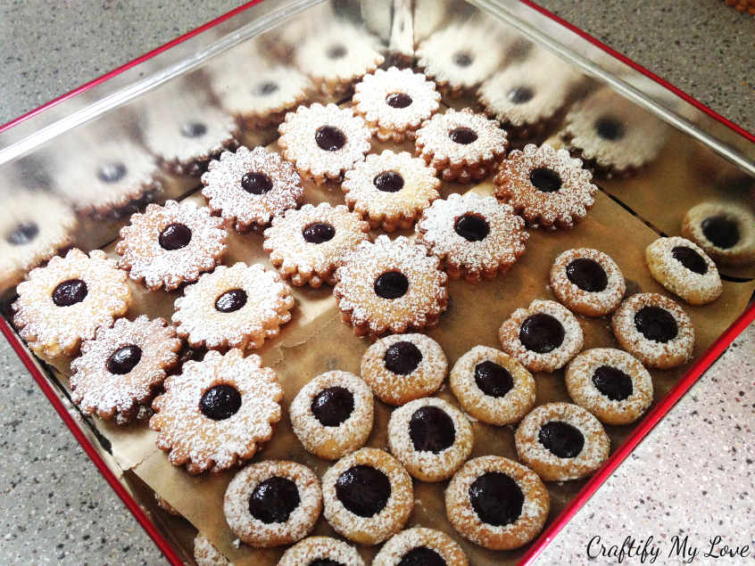 Spitzbuben German Christmas Cookies Free Printable As An Early